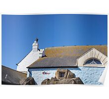 white buildings at land's end Poster