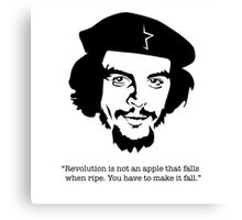 "Che ""Make it Fall"" Canvas Print"