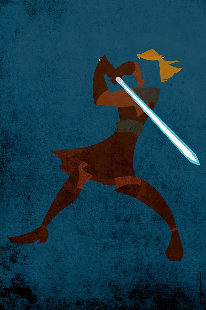 Anakin Skywalker by jehuty23
