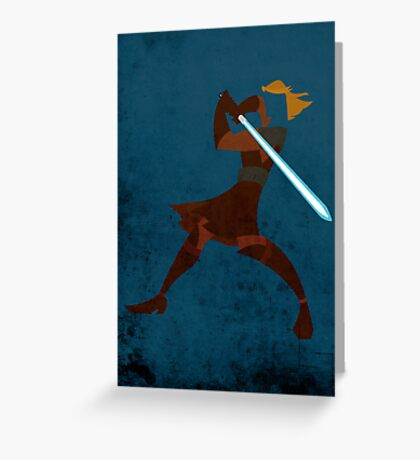 Anakin Greeting Card