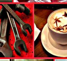cafe au lait Sticker