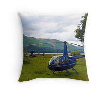 Copters - Derwent Water Lake District Throw Pillow