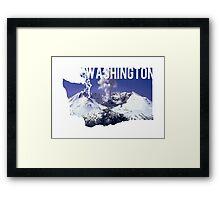 Washington - Mount St. Helens Framed Print