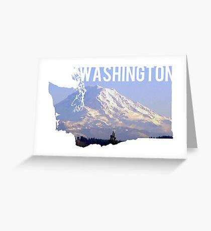 Washington - Rainier Greeting Card