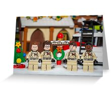 Ghostbuster at the North Pole Greeting Card