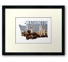 Washington - Seattle Framed Print