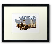 Washington - Seattle Framed Print