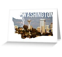 Washington - Seattle Greeting Card