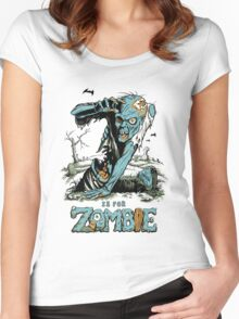 Z is for Zombie Women's Fitted Scoop T-Shirt