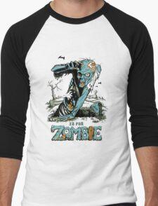 Z is for Zombie Men's Baseball ¾ T-Shirt