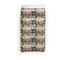 Ghostbuster at the North Pole Duvet Cover