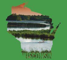 Wisconsin - Wetland Kids Clothes