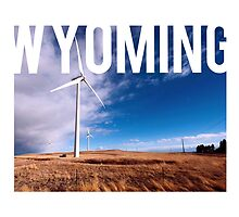 Wyoming - Windmill by Daogreer Earth Works