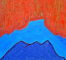Cerro Pedernal original painting by CrowRisingMedia