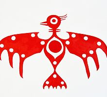 Thunderbird original painting by CrowRisingMedia