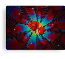 Sparkle of Roses Canvas Print