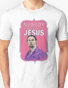 BIG LEBOWSKI-Jesus Quintana- Nobody F*cks with the Jesus T-Shirt
