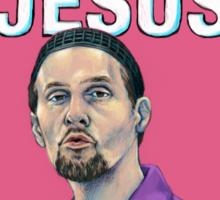 BIG LEBOWSKI-Jesus Quintana- Nobody F*cks with the Jesus Sticker