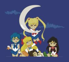 It's my moon Sailor Moon by EdWoody