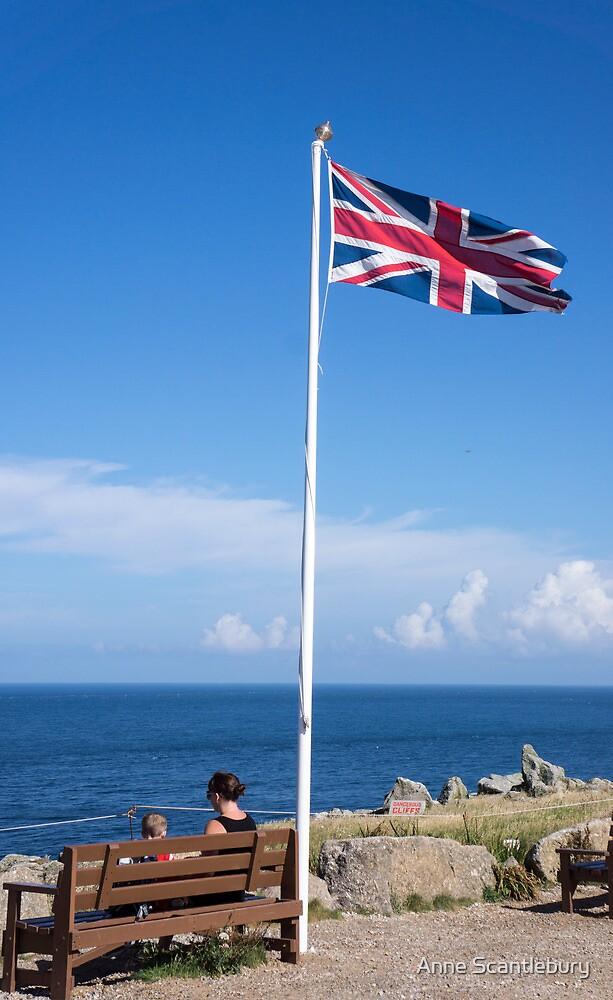 flagpole by Anne Scantlebury