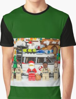 Santa and the Ghostbusters Graphic T-Shirt