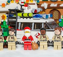 Santa and the Ghostbusters by garykaz