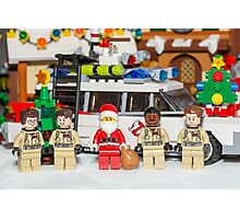 Santa and the Ghostbusters Photographic Print