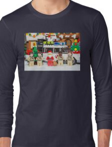 Santa and the Ghostbusters Long Sleeve T-Shirt