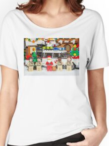 Santa and the Ghostbusters Women's Relaxed Fit T-Shirt