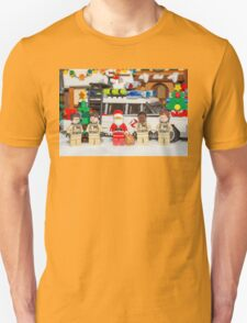 Santa and the Ghostbusters Unisex T-Shirt