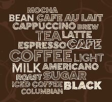 Coffee text by emberstudio