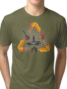 Through time Tri-blend T-Shirt