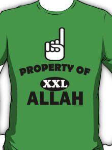 Property of ALLAH T-Shirt T-Shirt