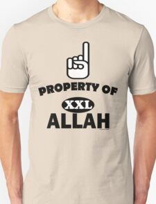Property of ALLAH T-Shirt T-Shirt
