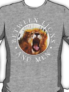 BL&M - Lion Crest (White) T-Shirt