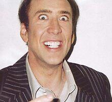 Nicolas Cage Rape Face by Marco Mitolo