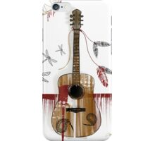 Folk Guitar iPhone Case/Skin