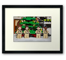 Ghostbuster Christmas Tree Framed Print
