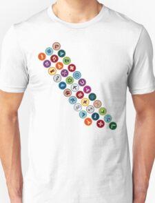 Merit badge sash Unisex T-Shirt