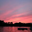 Red sky at night, sailors delight by Deanna Correia