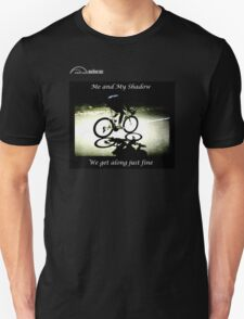 Cycling T Shirt - Me and My Shadow T-Shirt