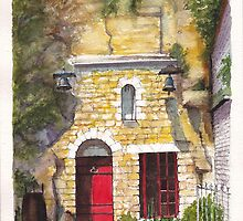 Chinon Troglodyte (Cave Dweller) House in the Loire Valley of France by Dai Wynn