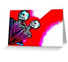 Skeletalove Greeting Card