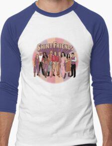 Shiny Friends Men's Baseball ¾ T-Shirt