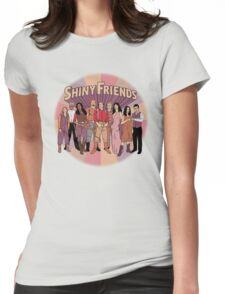 Shiny Friends Womens Fitted T-Shirt