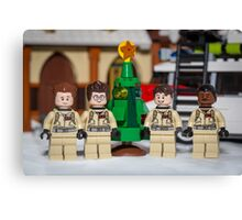 Small Tree GhostBusters Canvas Print