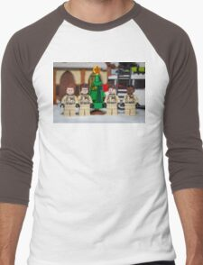 Small Tree GhostBusters Men's Baseball ¾ T-Shirt