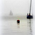 The Little Red Buoy by paintingsheep