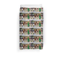 Small Tree GhostBusters Duvet Cover