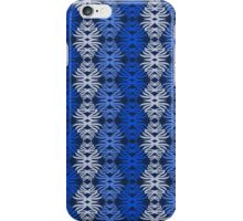 Shaggy Zaggy - Black & Blue iPhone Case/Skin